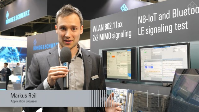 First combined test solution for NB-IoT and Bluetooth presented at GSMA MWC 2019