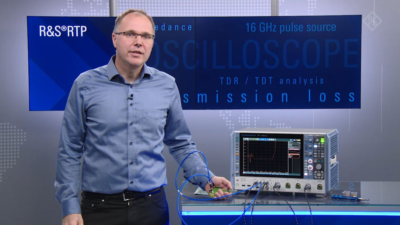 TDR/TDT Analysis with R&S Oscilloscopes