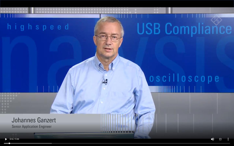 Application video USB compliance measruements video 01 screen