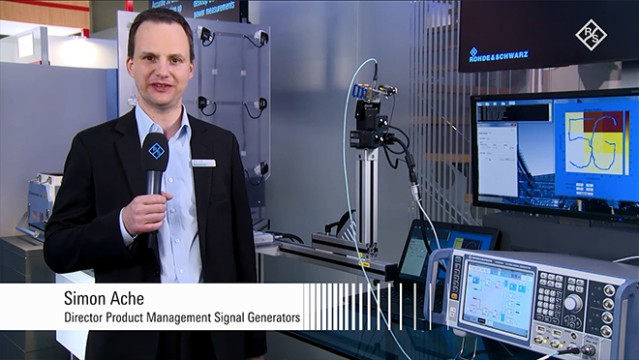 Compact and scalable beamforming power measurements presented at GSMA MWC 2017