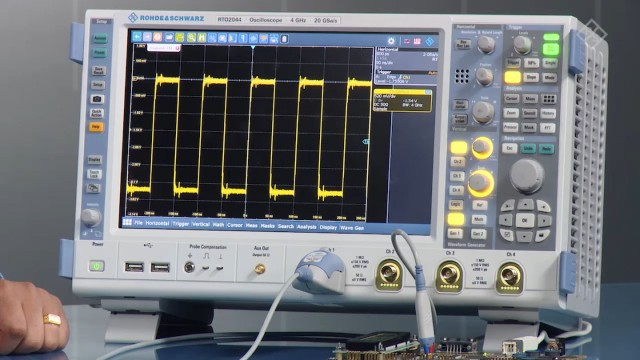 Quickly find signal faults with 1 million waveforms/s