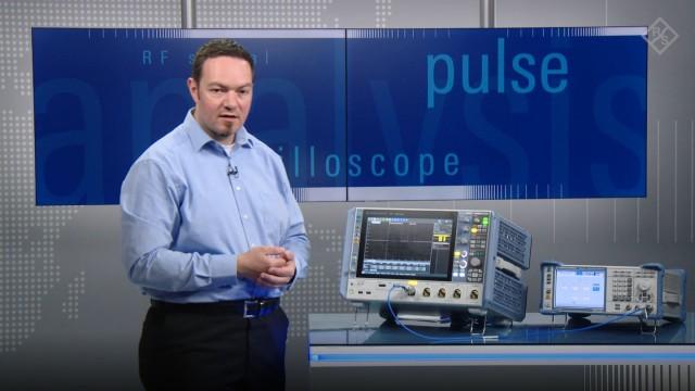 RF pulse train analysis