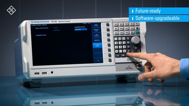 R&S®FPC1000 spectrum analyzer protects your investment