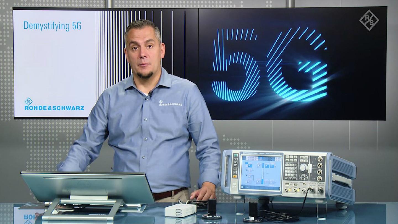 Demystifying 5G – Configuring a 5G NR network measurement setup