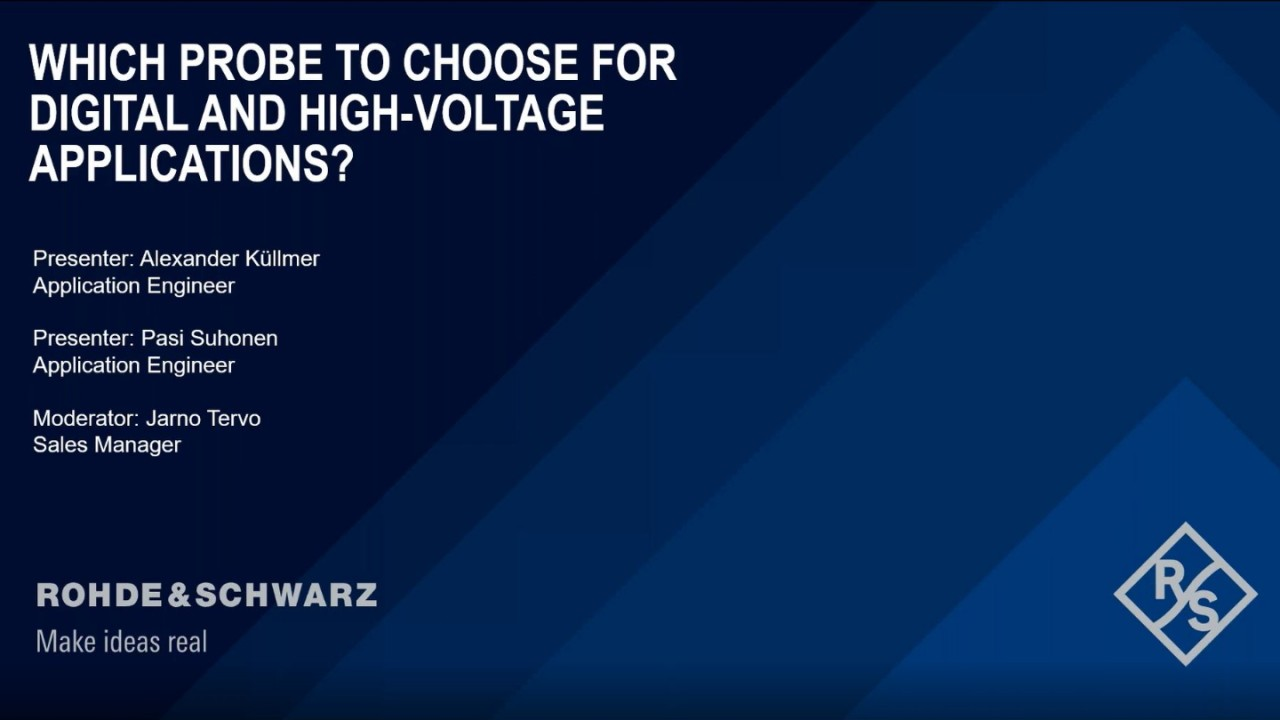 Which Probe to Choose for Digital and High-Voltage Applications