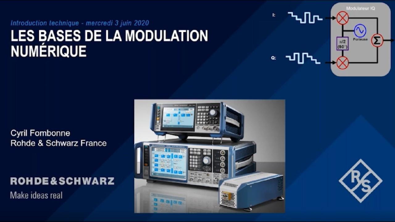 Les fondamentaux de la modulation et démodulation numérique - Partie 1