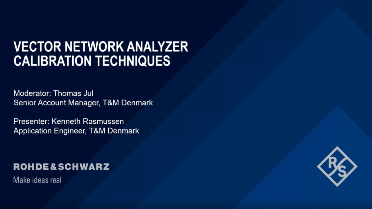 Calibration Techniques of Vector Network Analyzer