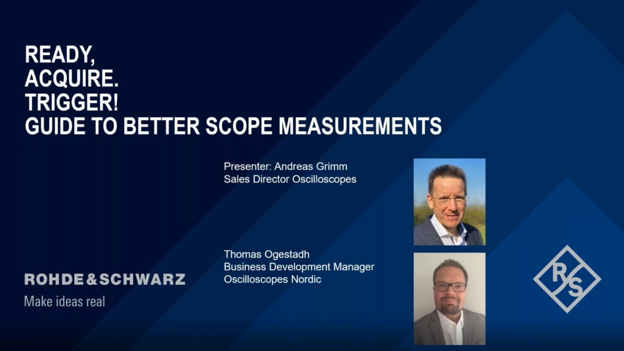 Ready, Acquire, Trigger – Guide to Better Scope Measurements