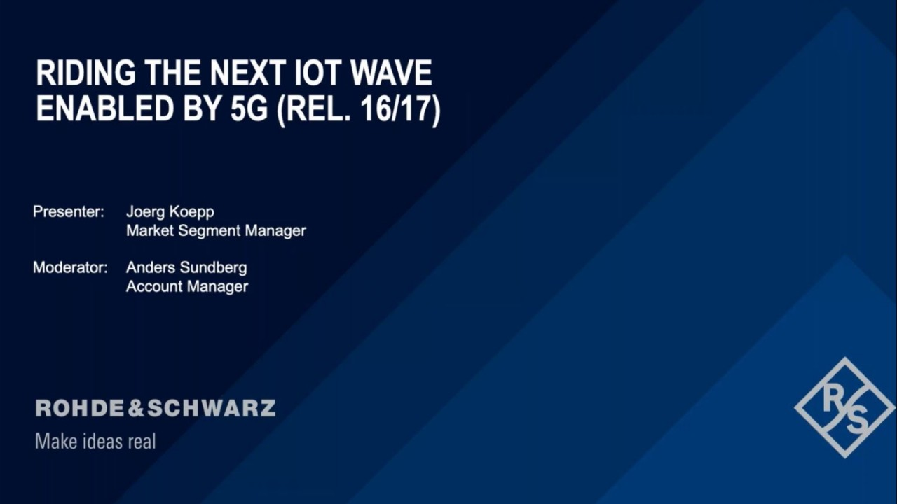 Riding the Next IoT Wave Enabled by 5G (Rel.16/17)