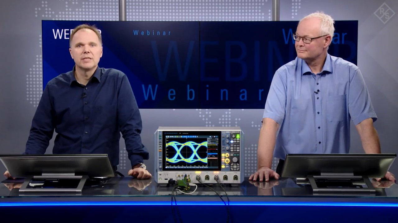 Webinar: Introduction to novel R&S approach for jitter decomposition