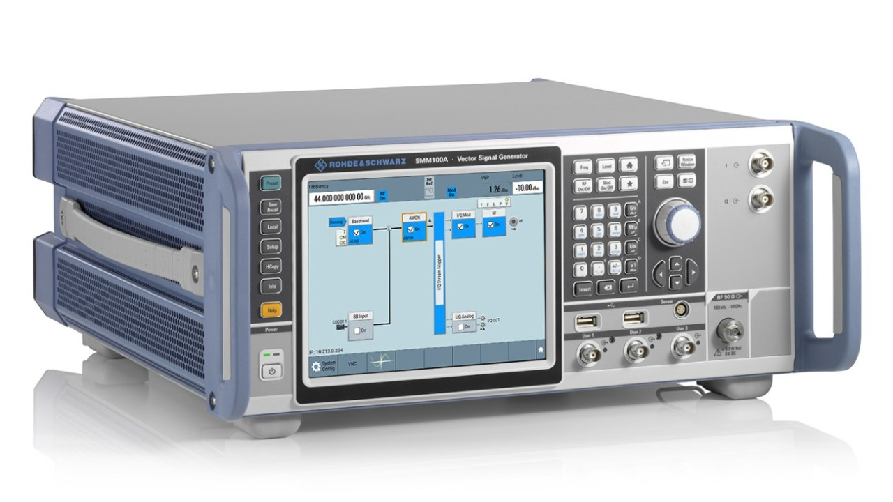 Новый генератор компании Rohde & Schwarz SMM100A