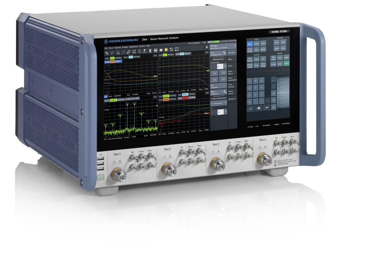 R&S®ZNA-50/67 расширение рабочего диапазона частот до 50 и 67 ГГц