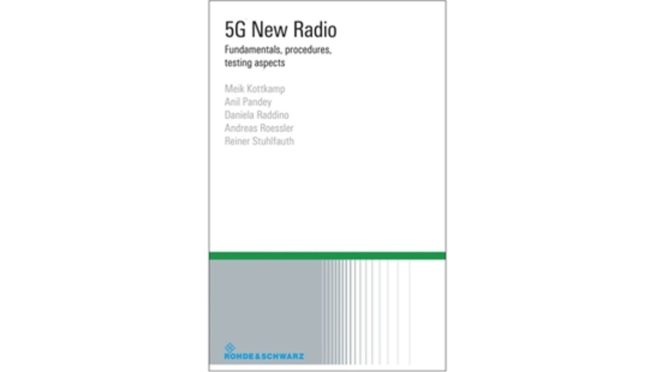 Get your free copy of the 5G NR e-book